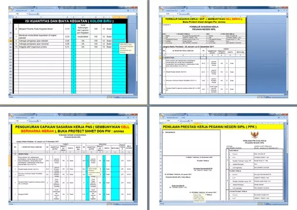 Aplikasi SKP (Sasaran Kerja Pegawai Negeri Sipil) Versi Terbaru