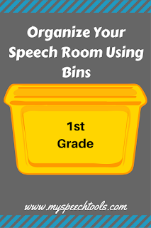 using bins organzie