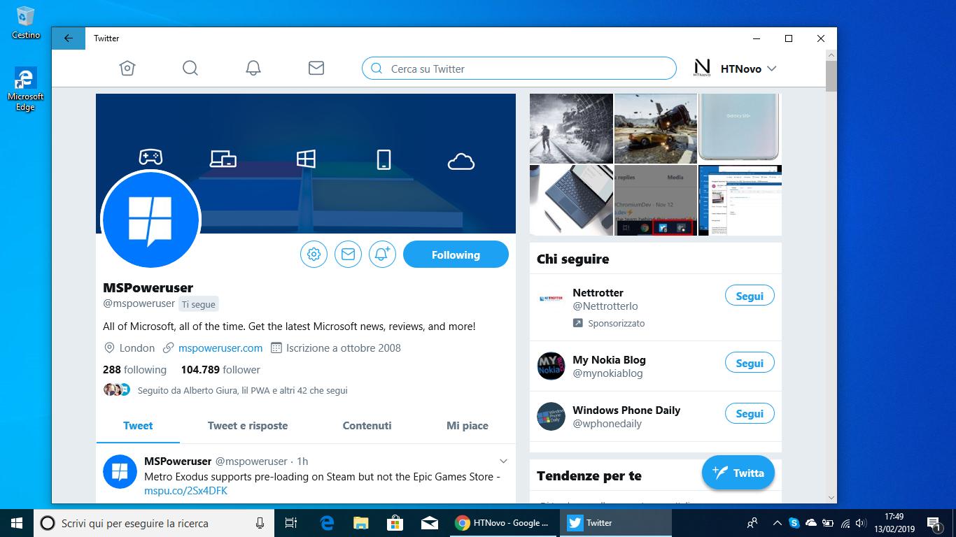 Twitter-PWA-Windows-10-miglioramenti