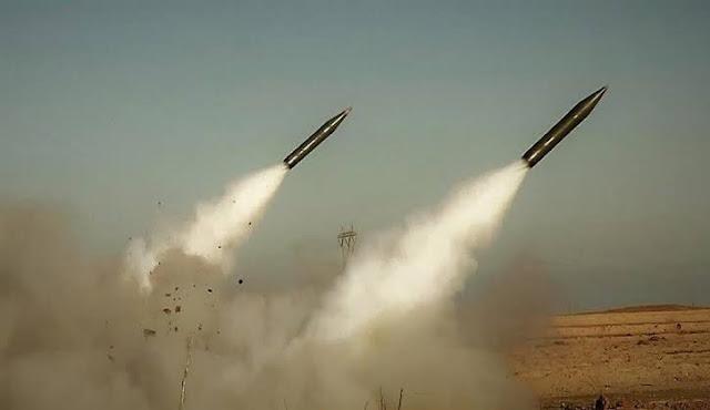 3 صواريخ كاتيوشا تسقط على قاعدة التاجي.