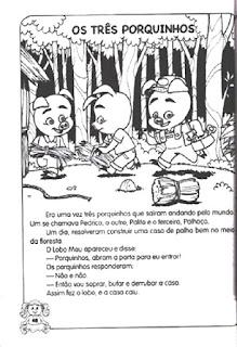 História dos três porquinhos