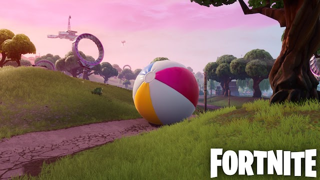The Fortnite Beach Ball Locations: Where to Bounce Giant Beach Balls