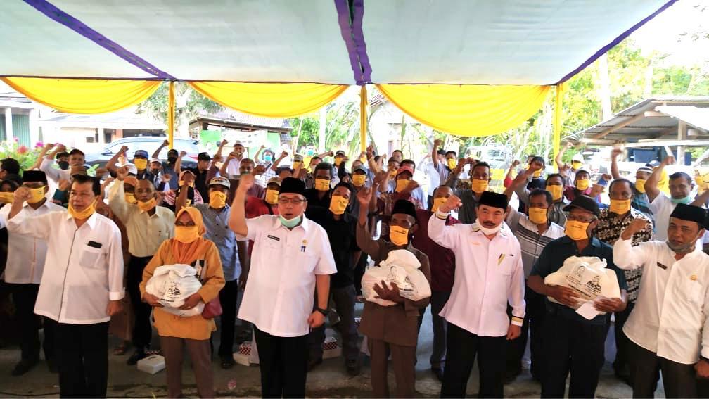 Disela Sosper, TEC Berikan Tali Asih Untuk Warga Lampung Selatan