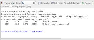 K-log: DIY Temperature logger with STM32F103, microSD card