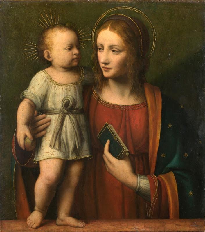 Workshop of Bernardino Luini - The Virgin and Child
