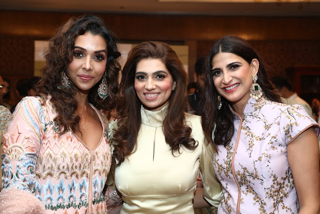 Actor Anupriya Goenka, Designer Nikhita Tandon and Actor Aahana Kumra
