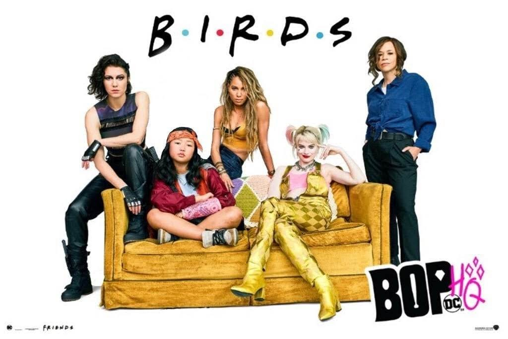 Birds of Prey : マーゴット・ロビーのハーレー・クインが戦うヒロインの軍団を結成する DC 映画の最新作「BOP : ハーレー・クイン」のテレビスポット ! !