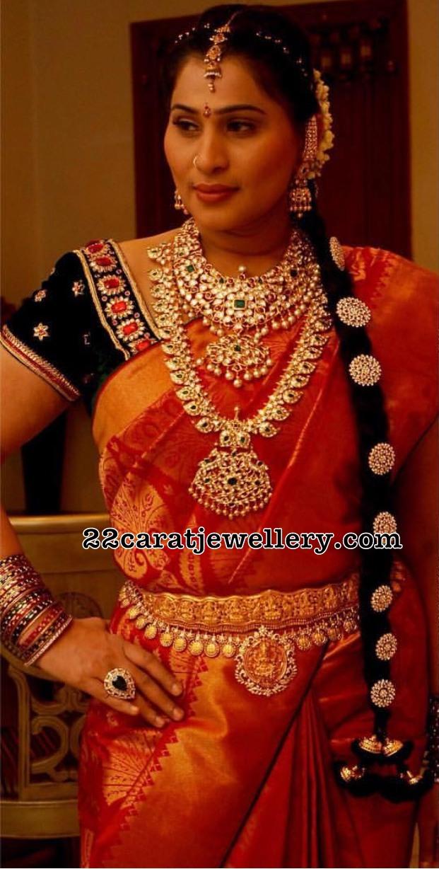 Sreedevi Chowdary Mango Mala Grand Choker
