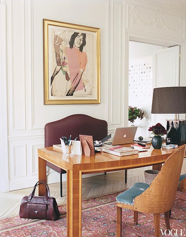 L Wren Scott apartment images by Francois Halard for Vogue 2012