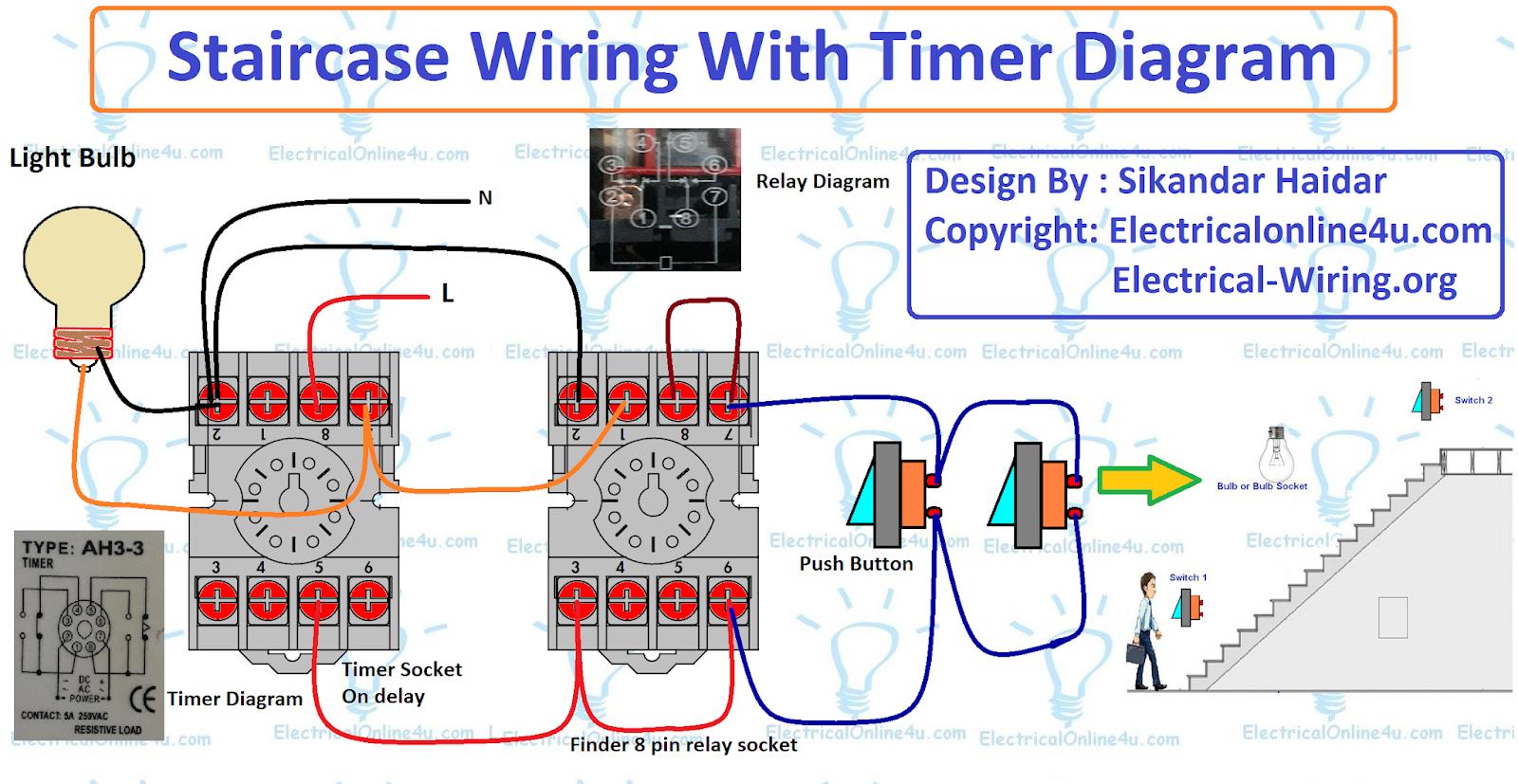 Timer Wiring Diagram Wiring Source