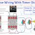 Staircase Timer Wiring Diagram - Using On Delay Timer And Relay