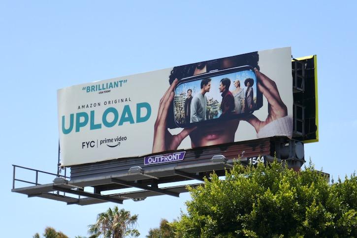 Upload 2020 Emmy FYC billboard