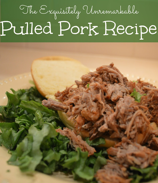 The Exquisitely Unremarkable Pulled Pork Recipe
