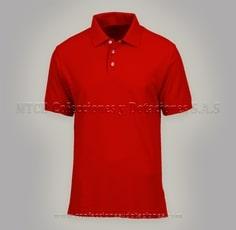 Camiseta polo en lacoste Rojo