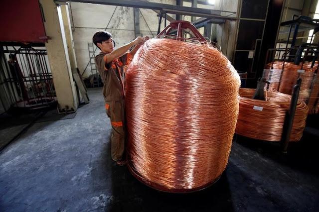 Precio del cobre