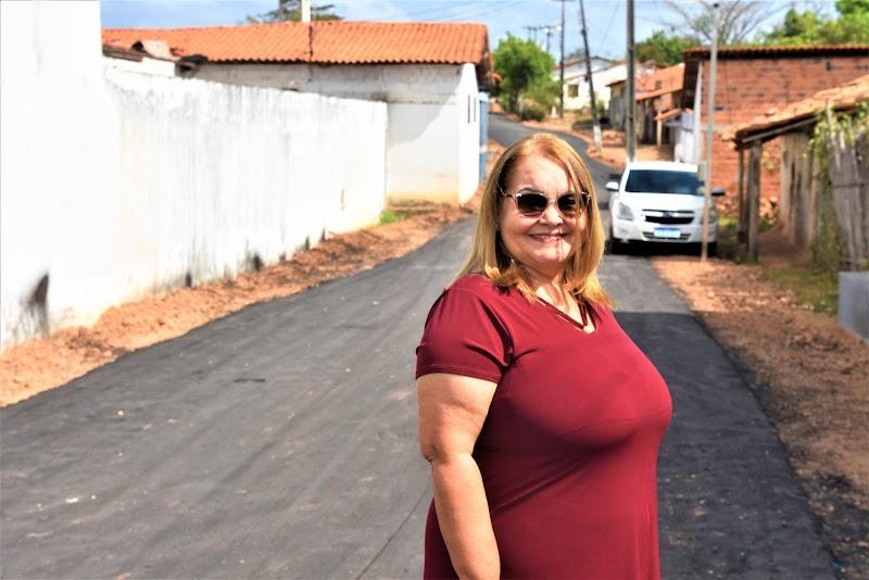 Prefeita Dirce acompanha execução de obras na Comunidade Quilombola do Bom Jesus em Lima Campos