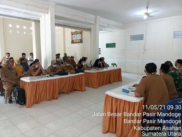 Personil Jajaran Kodim 0208/Asahan Hadiri Rapat Untuk Menyambut Hari Raya Idul Fitri 1442