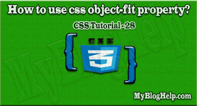 css object-fit property