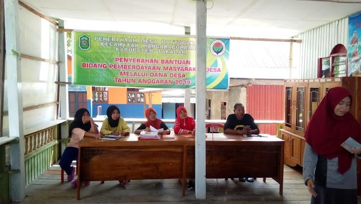 Rabasia Pembina Pola Asu Anak Dan Remaja BKKBN Marbo Kerjasama  Pemdes Pattopakang Rakor Persiapkan Kunker SMEP Provinsi Sulsel