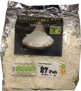 Sainsbury's Cauliflower rice
