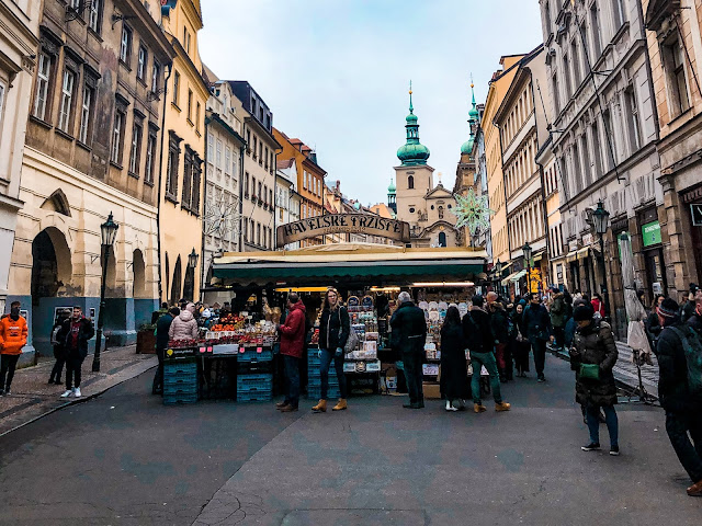 3 days in Prague at Christmas: markets