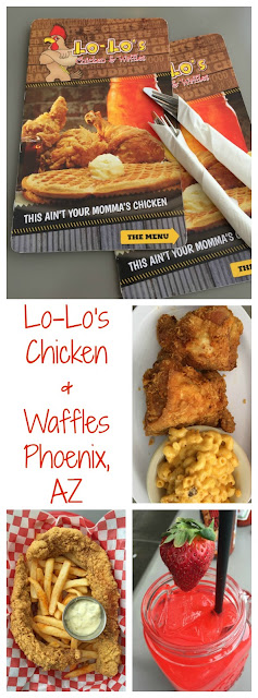 Traveling fun... Lo-Lo's Chicken & Waffles in Phoenix, Arizona! Total soul comfort food with classic fried chicken, drinks and much more!