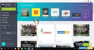 Langkah 2 Membuat Logo Online Gratis di Canva.com