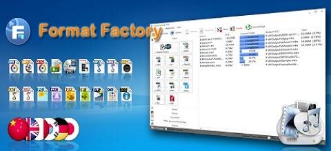 تحميل برنامج فورمات فاكتورى لتحويل الصيغ Format Factory 2019