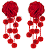 HotBuys - Pom Pom Rose Earrings - Released