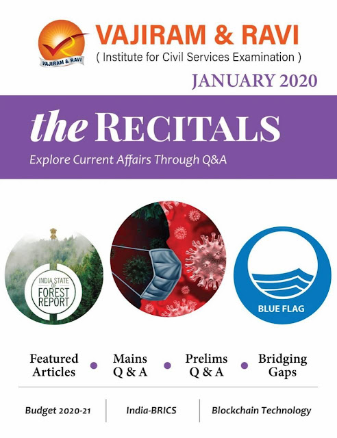The Racitals Current Affairs (January 2020) : For UPSC Exam PDF Book