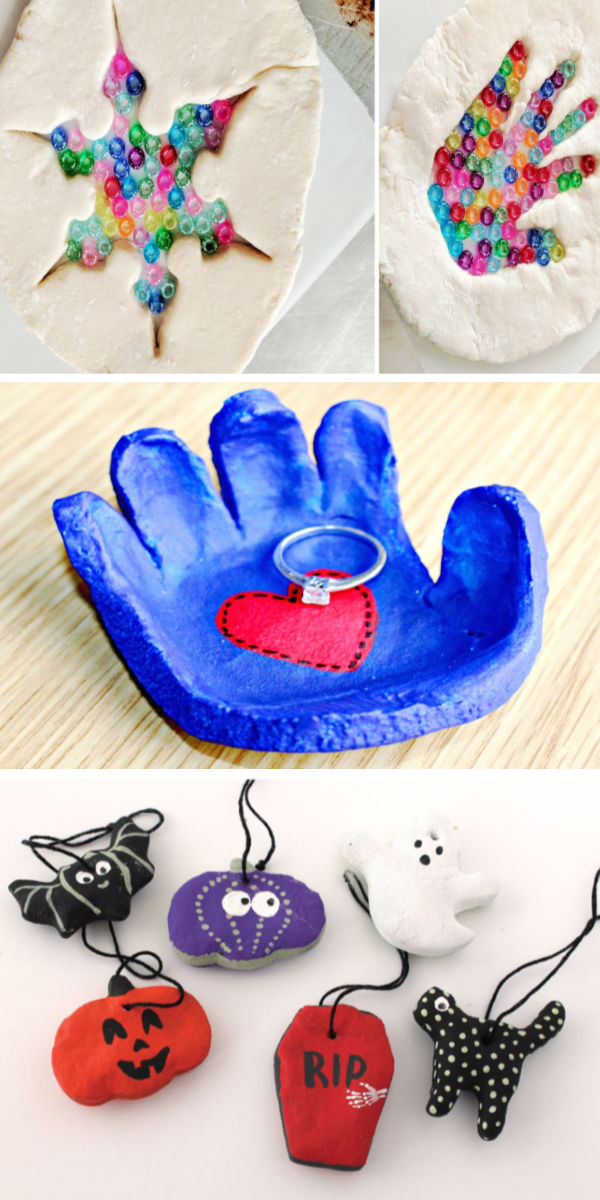Salt dough craft and activities for kids including a recipe for making holiday ornaments step-by-step. #saltdoughrecipe #saltdoughornaments #saltdough #saltdoughprojects #saltdoughcrafts #saltdoghrecipenobake #ornamentcrafts #ornamentclayrecipe #ornamentclay #howtomakeornaments #ornamentsdiychristmas #christmascrafts #growingajeweledrose #activitiesforkids