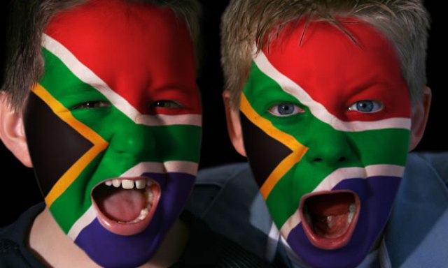 South African Face Paint