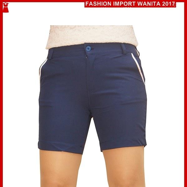 ADR061 Celana Tosca Biru Pendek Hotpant Import BMGS