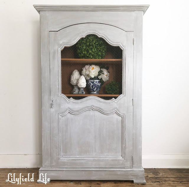 french linen press hand painted by Lilyfield Life