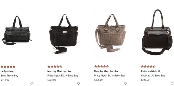00bd73aa312e We had always joked that I d get a designer baby bag