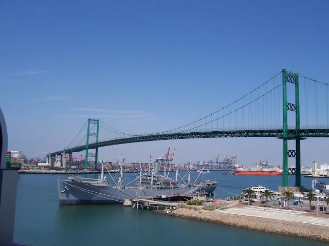 Terminal Island, & Wilmington Los Angeles Districts