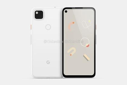Render Google Pixel 4a Tersebar vdi Internet