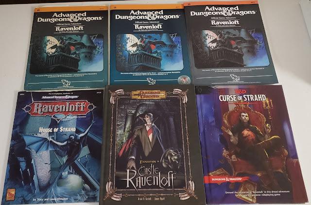 All versions of Castle Ravenloft