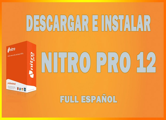 Nitro Pro 12 full espa25C325B1ol -