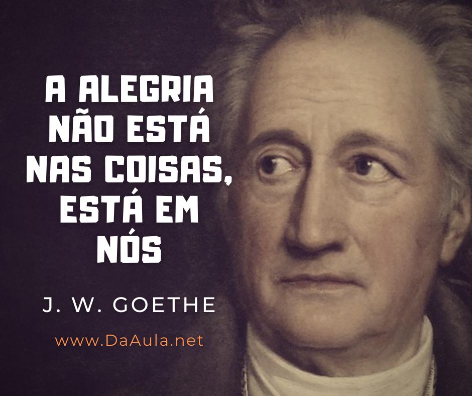Quem foi Johann Wolfgang Von Goethe
