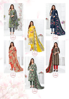 MCF Pashmina Vol 10 Cotton Dress Material Collection