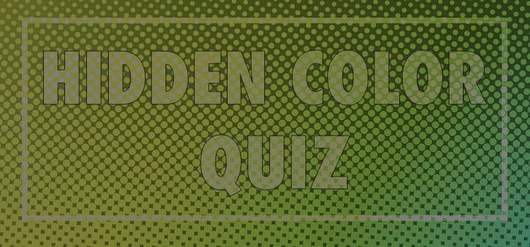hidden color quiz answers 100% score quiz diva