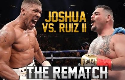 Mola TV Anthony Joshua vs Andy Ruiz Jr. II