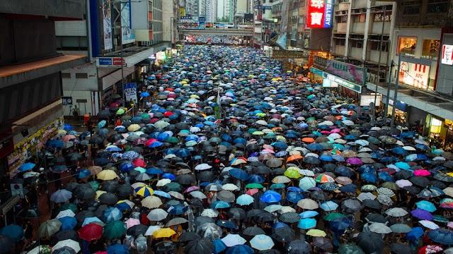Hong Kong Protestoları Zaman Çizelgesi