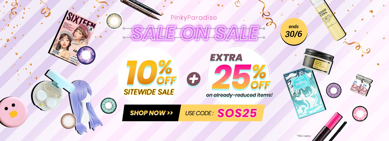 pinkyparadise sale on sale