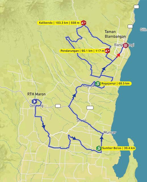 Rute etape 2 ITdBI2016.