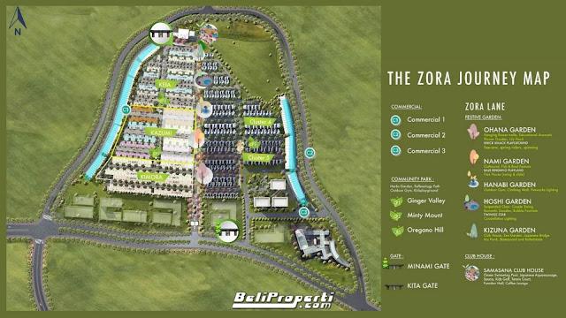 siteplan the zora bsd