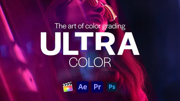 Videohive - Ultra Color | LUTs pack for Any Software - 28619142