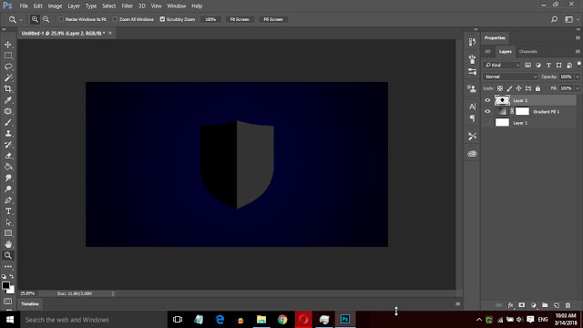 How to Design a Golden Text Logo in Photoshop
