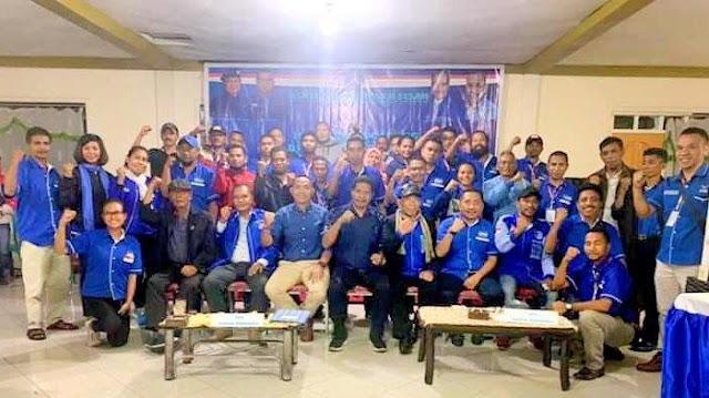 Pilkada Kab Ngada 2020, 12 DPAC Partai Demokrat Resmi Usung Paket GUD-ATR